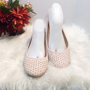 Lucky Brand Leather Ballerina Flats